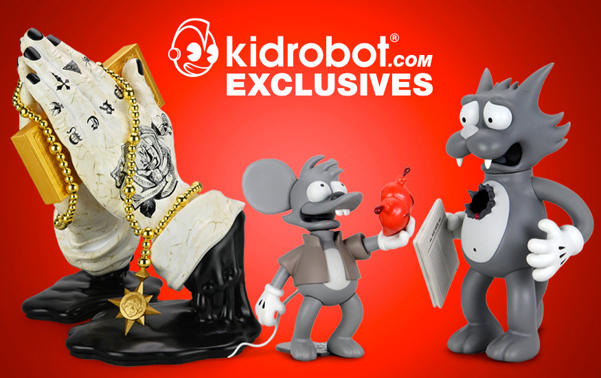 Kidrobot.com Exclusive Products