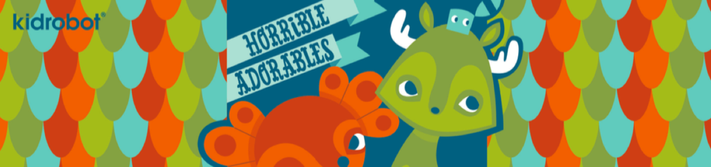 Horrible Adorables Designer Vinyl Art Toys by Kidrobot