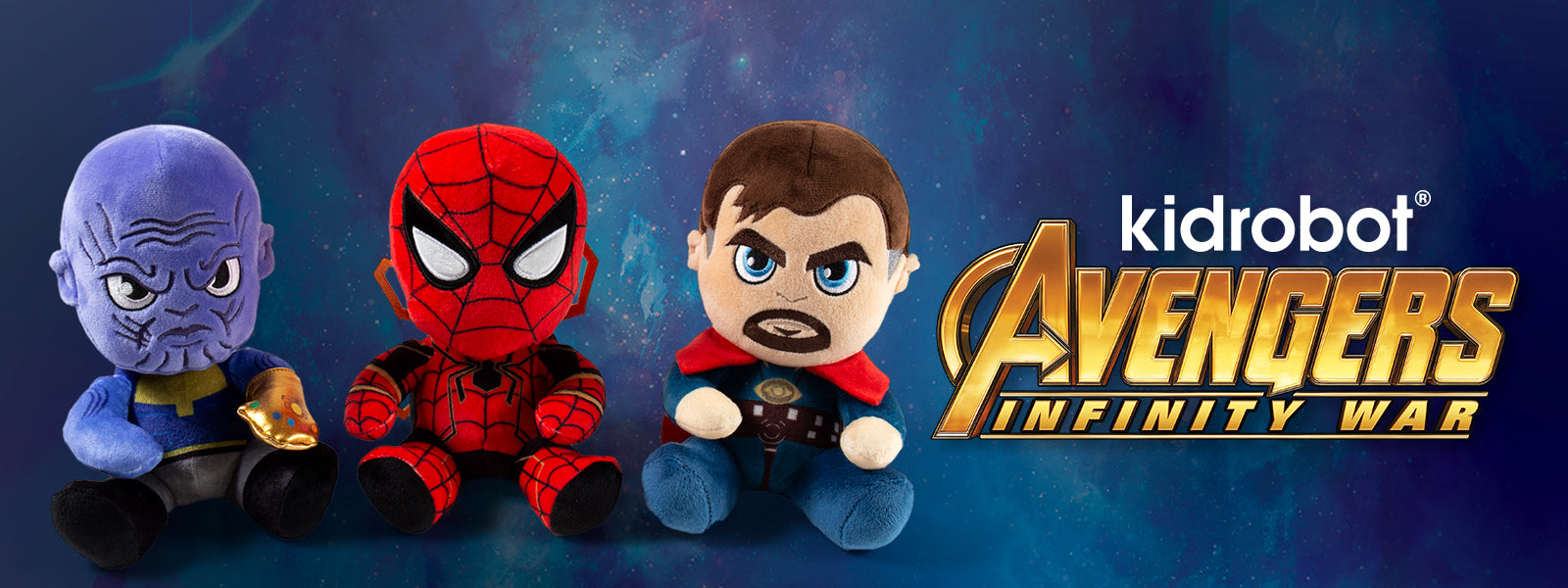 Kidrobot x Marvel Toys: Avengers Infinity War Plush, Captain Marvel, more - Kidrobot.com