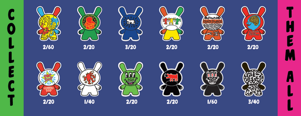 Keith Haring Dunny Series Ratios