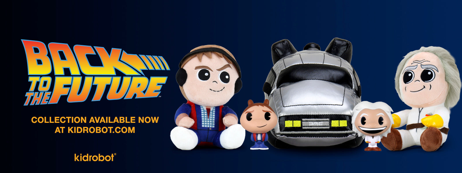 Back to the Future Day at Kidrobot.com