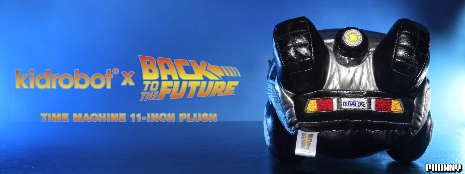 Back to the Future Delorean Time Machine Plush
