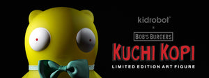 Bobs Burgers Kuchi Kopi Glow in the Dark Art Figure by Kidrobot