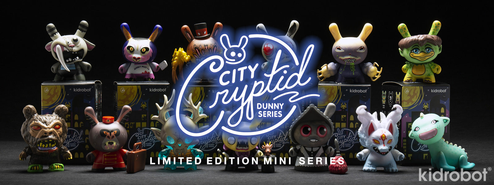 Shop Dunny Art Figures - New City Cryptid Dunny Mini Series by Kidrobot Now Available at Kidrobot.com