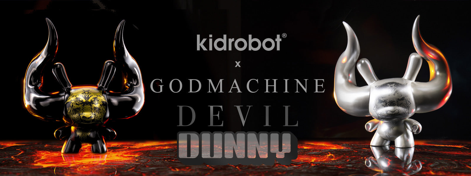 Arcane Divination The Devil Tarot Dunny Art Figures by Godmachine - GODMACHINE Art Toys by Kidrobot