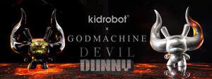 Arcane Divination Devil Dunny by Godmachine - Kidrobot