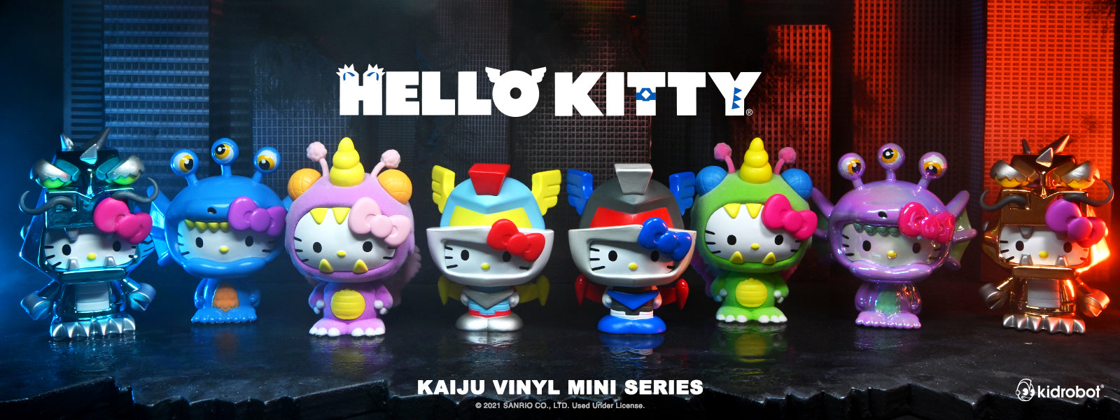 Kidrobot x Hello Kitty Kaiju Mini Figure Series