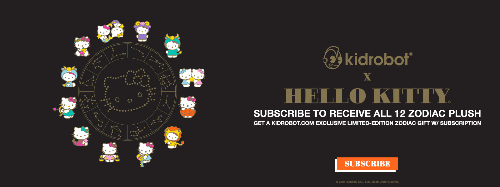 Hello Kitty Zodiac Plush Collection - Subscribe for Free Gifts