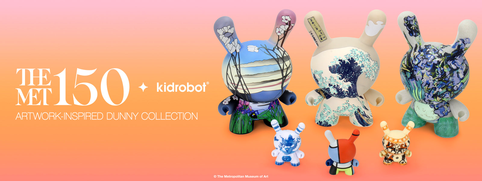 Kidrobot x The MET Dunny Collection