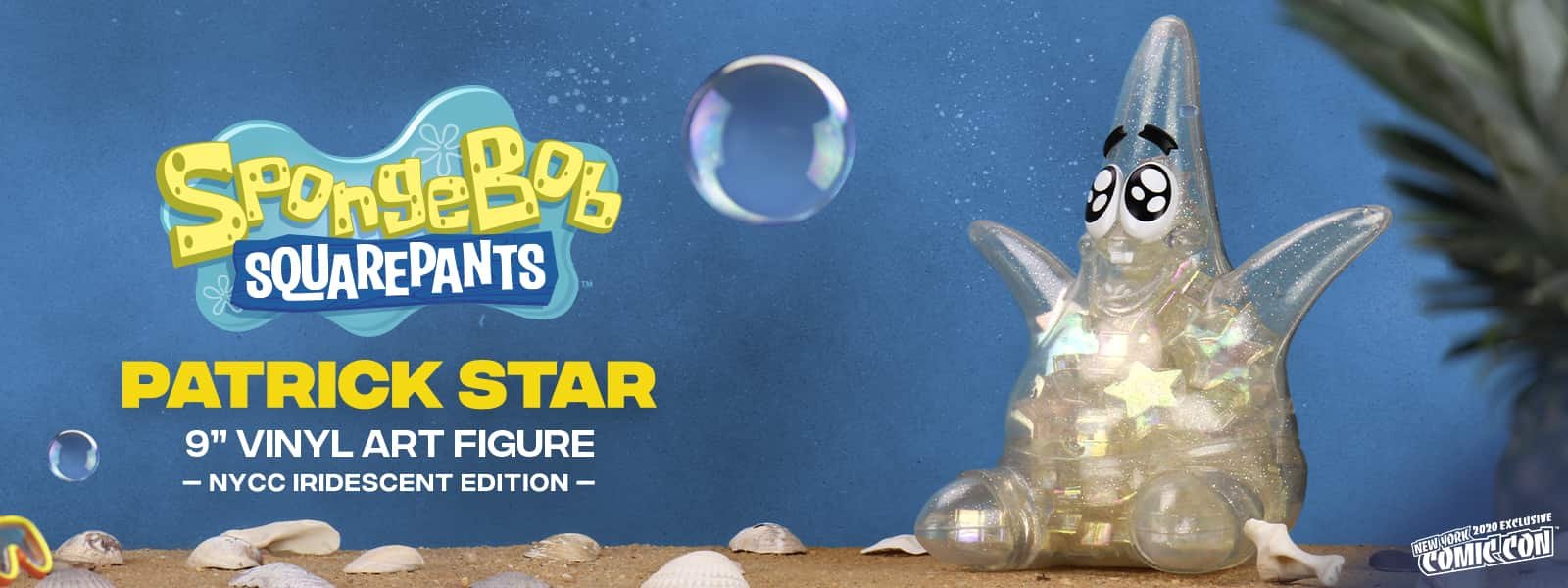 Patrick Star NYCC Exclusive Art Figure Spongebob Squarepants