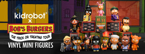 Kidrobot x Bobs Burgers Trick or Treating Mini Toy Figures Series
