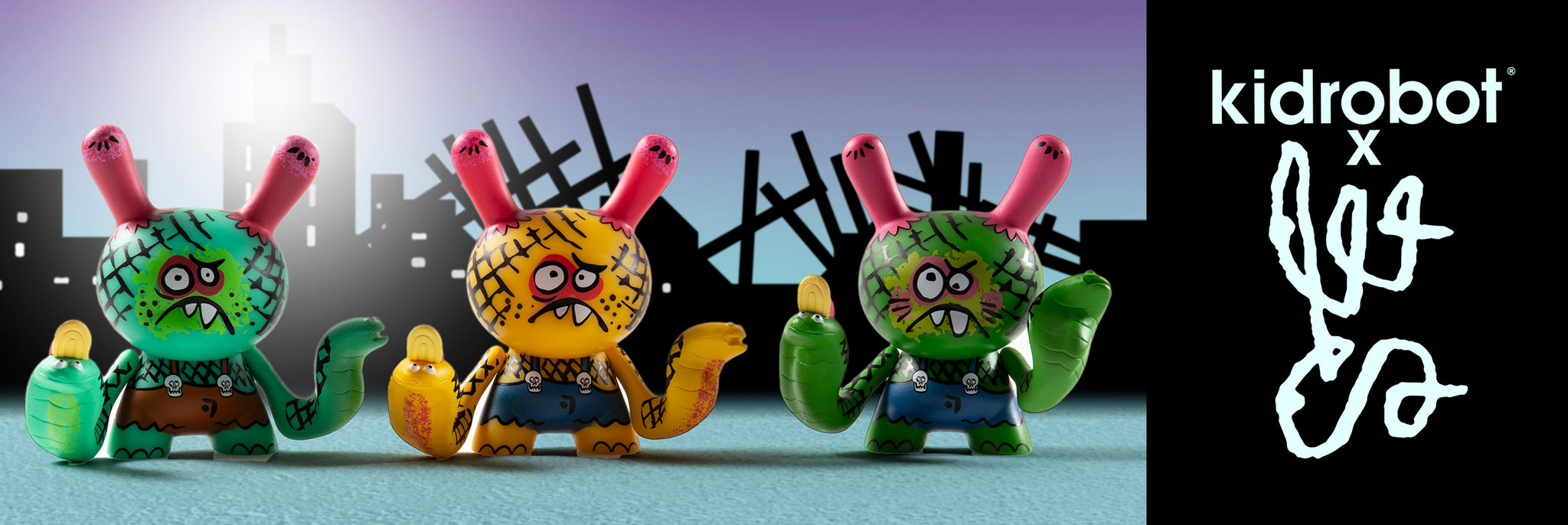 Bwana Spoons Art Toys, Dunny Art Figures by Kidrobot