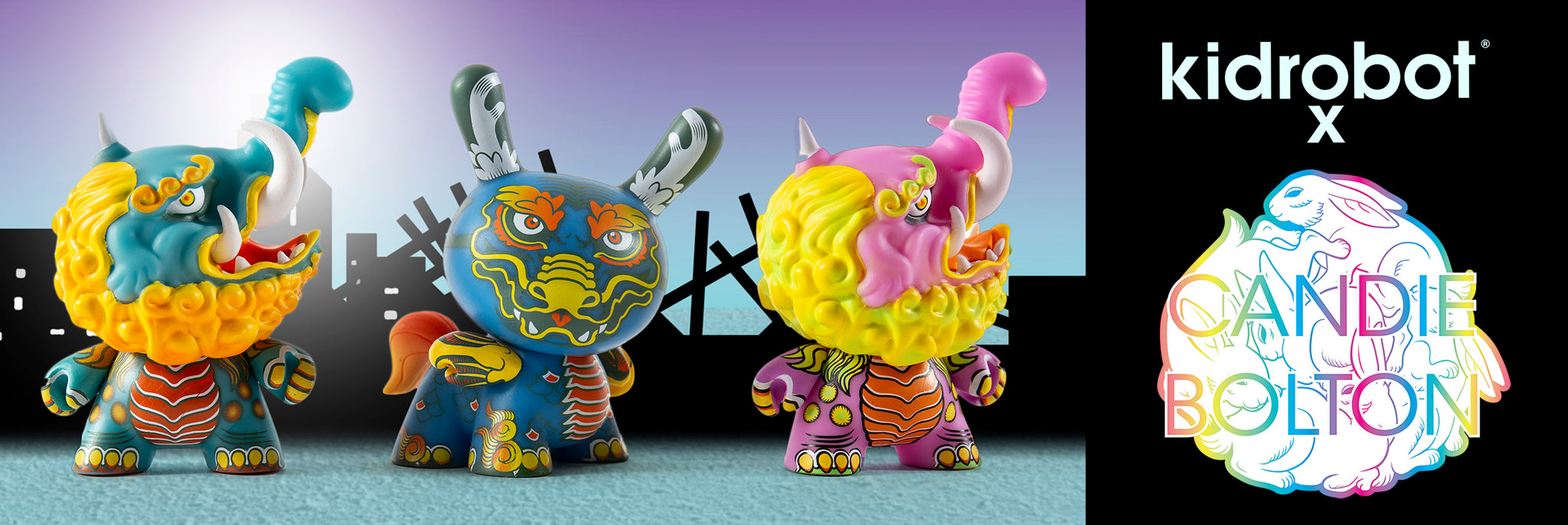 Kidrobot x Candie Bolton Art Toys & Dunny Art Figures