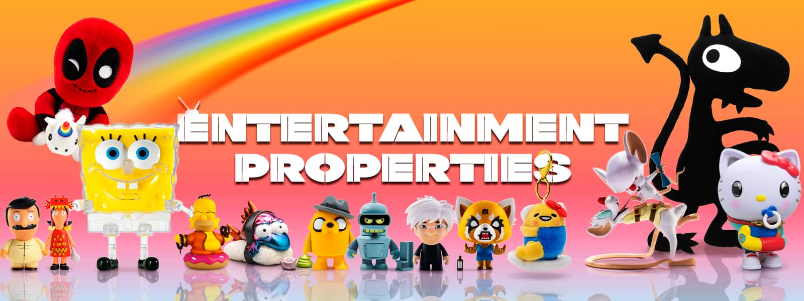 Entertainment Property Toys by Kidrobot