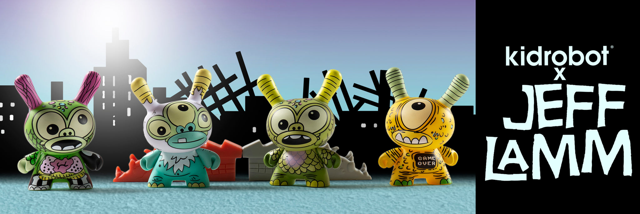 Jeff Lamm Art Toys, Dunny Designs & Art by Kidrobot