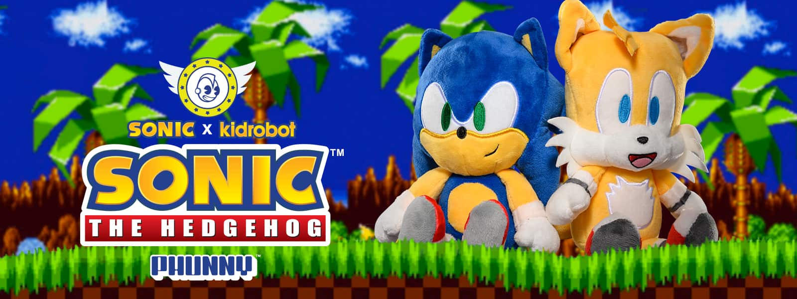 Sonic the Hedgehog Plush by Kidrobot