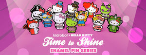 Kidrobot Hello Kitty Time To Shine Plins & Keychains