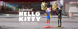 Kidrobot x Hello Kitty x Candie Bolton Hello Kitty Art Figures