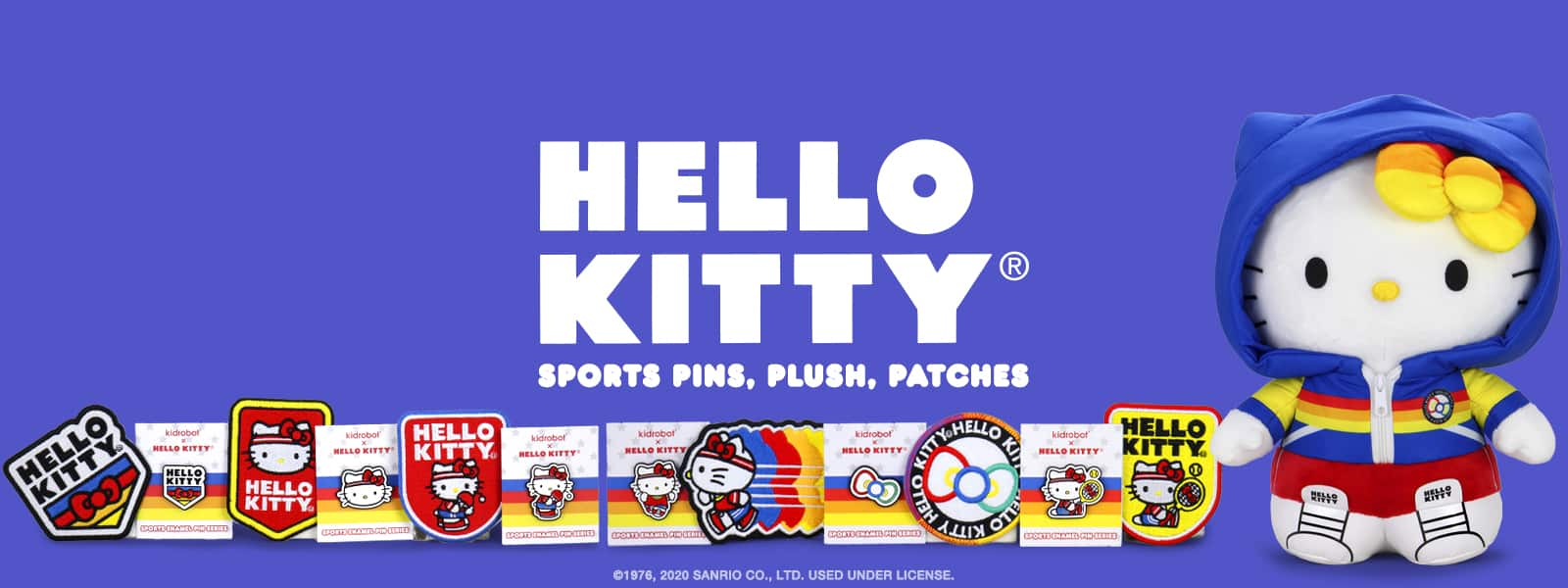 Kidrobot x Hello Kitty Sports Toy Collection