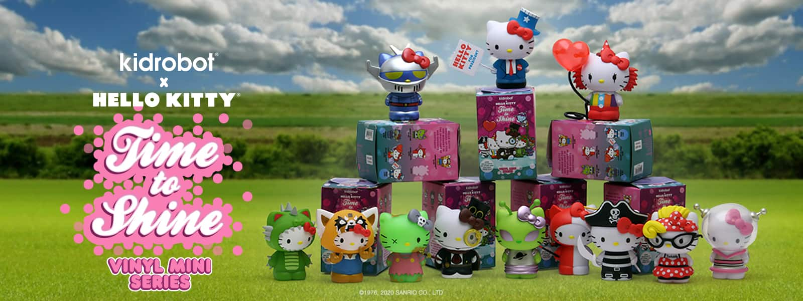 Kidrobot x Hello Kitty Time to Shine Toy Figures - Sanrio - Kidrobot.com