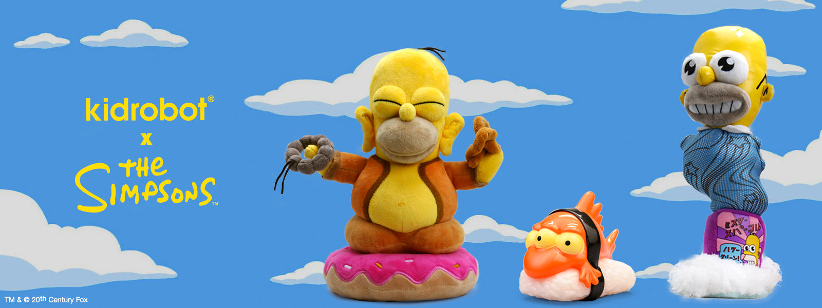 Kidrobot x The Simpsons Art Toys & Collectibles