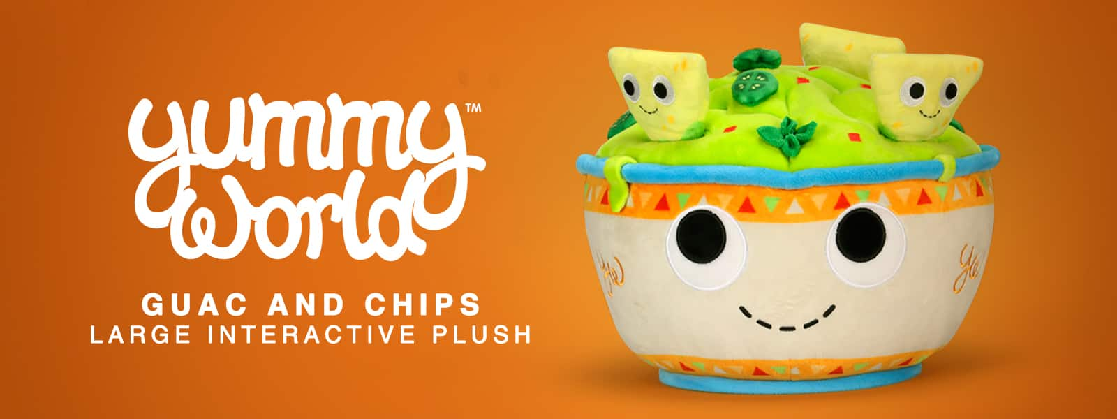 Kidrobot Yummy World Guacamole & Chips Plush
