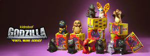 Godzilla Mini Figure Series by Kidrobot