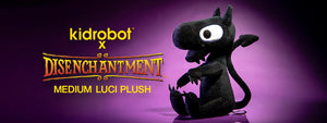 Disenchantment Luci Plush by Kidrobot - Netflix Matt Groening Stuffed Animal