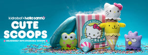 Sanrio Cute Scoops Ice Cream Plush by Kidrobot