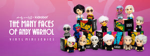 Many Faces of Any Warhol Mini Art Figure Series Kidrobot