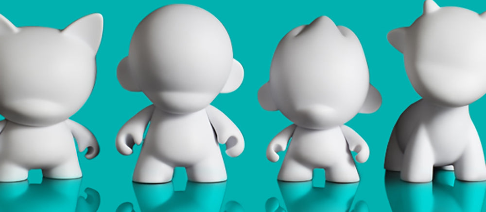 Blank Art Toys for Customization, DIY Art for Kids & Adults