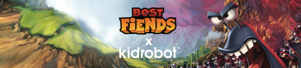 Best Fiends by Kidrobot