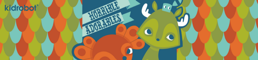 Horrible Adorables Vinyl Art Toys by Kidrobot
