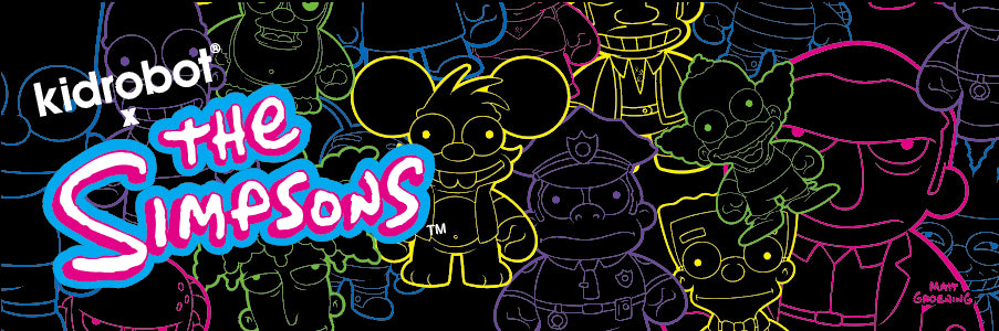 The Simpsons Toys, Art Figures & Collectibles by Kidrobot