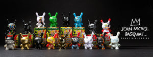 Jean-Michel Basquiat Dunny Art Figure Mini Series by Kidrobot