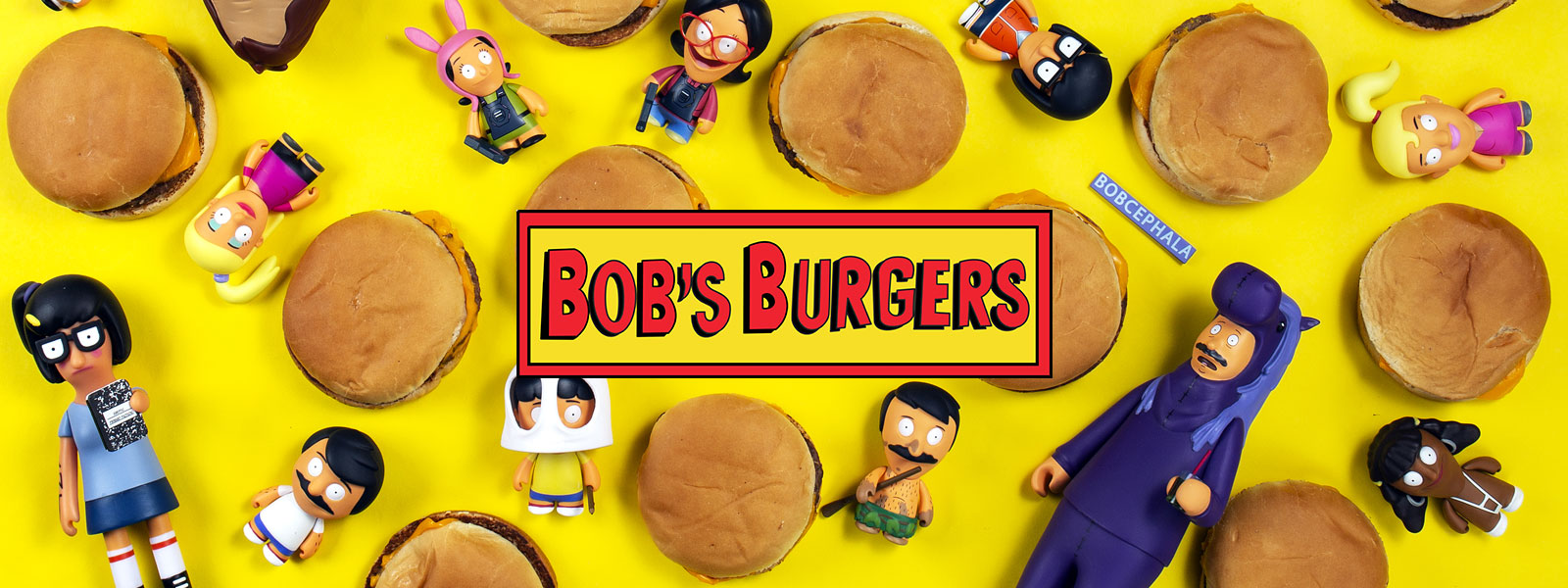 Bobs Burgers toys by Kidrobot