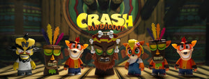 Crash Bandicoot Toys, Phush & Figures by Kidrobot