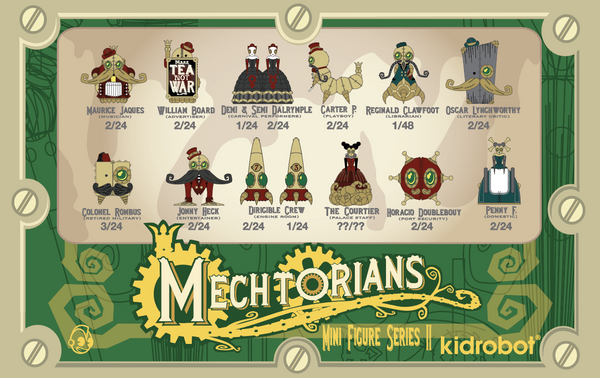 The Mechtorians Kidrobot Mini Series by Doktor A - Ratios