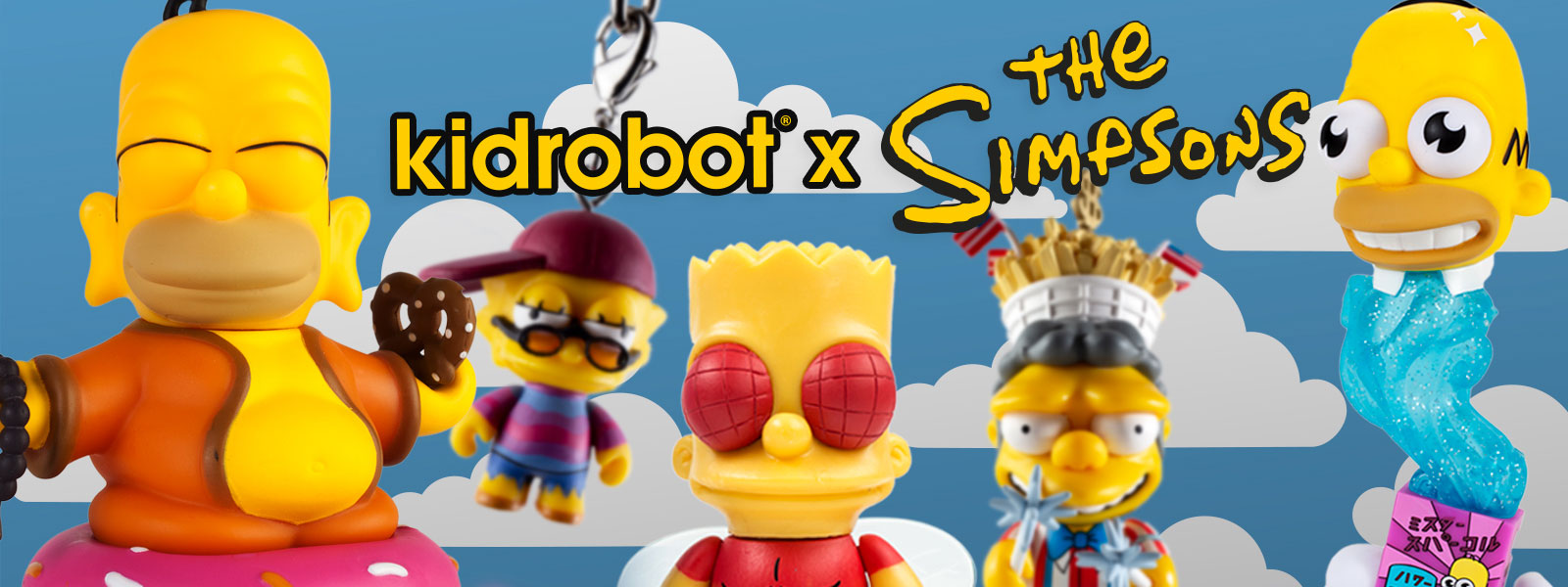 The Simpsons Toys Figures Collectibles by Kidrobot