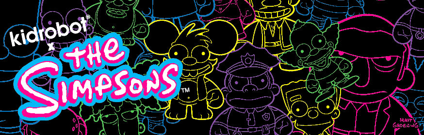 The Simpsons X Kidrobot Toys, Art Figures & Collectibles