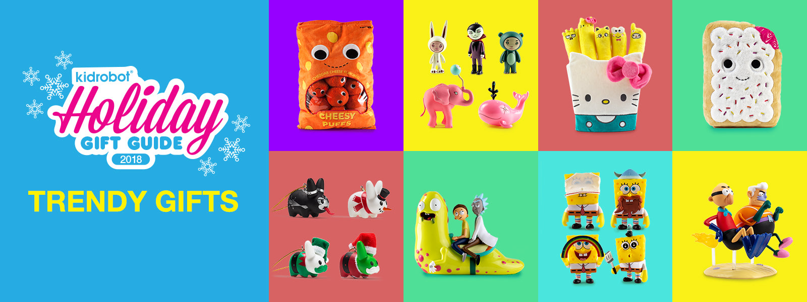 Kidrobot Holiday Gift Guide 2018: Trendy Gifts Tagged \