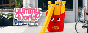 Kidrobot x Yummy World 4-Foot French Fries Plush