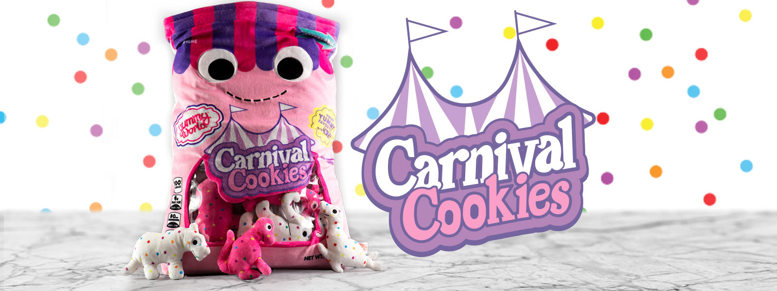 Chloe and the Carnival Cookies Circus Animal Cookies Plush by Kidrobot ...