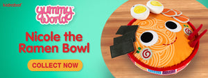 Yummy World Nicole the Ramen Bowl Plush by Kidrobot