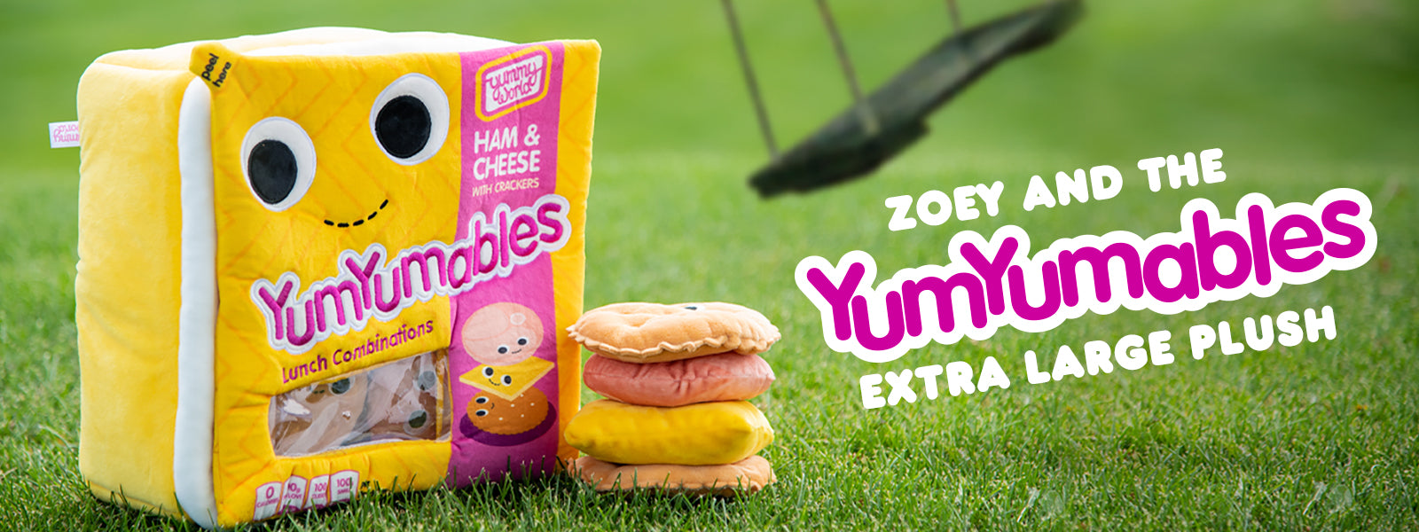 Lunchable Plush Toys Zoey and the YumYumables Plush by Kidrobot x Yummy World
