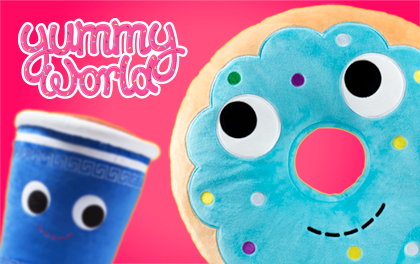 Yummy World Plush, Toys & Collectibles by Kidrobot