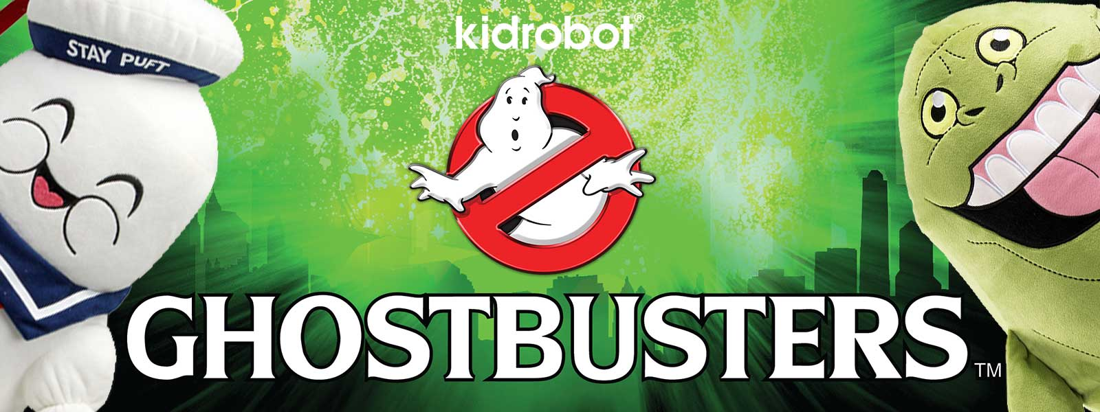 Ghostbusters x Kidrobot Plush Toys & Collectibles - Kidrobot.com