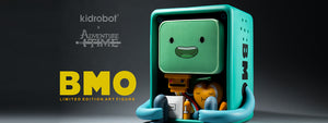 Adventure Time BMO Art Figure