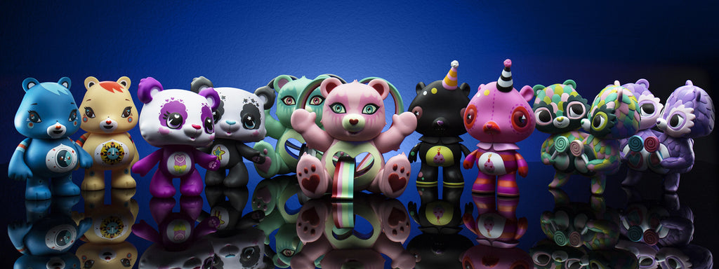 Care Bears Female Artist Art Figure Series Kidrobot