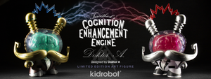 Kidrobot Cognition Enhancement Dunny Art Toy by Doktor A